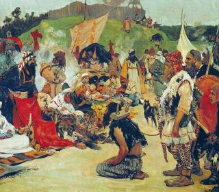s v ivanov trade negotiations in the country of eastern slavs pictures of russian history