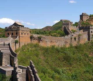 Great Wall of China near Jinshanling