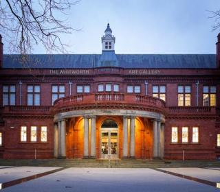 Exterior photo of the Whitworth Gallery, Manchester