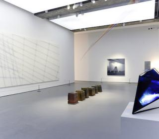 Photograph of the interior of the Towner Art Gallery in Eastbourne